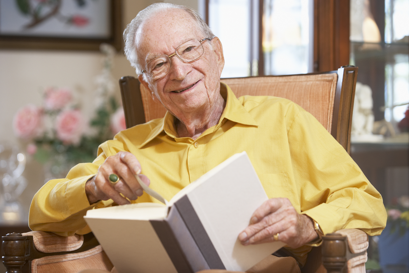 Caregivers in Cherry Hill NJ: Seniors and Get Caught Reading Month