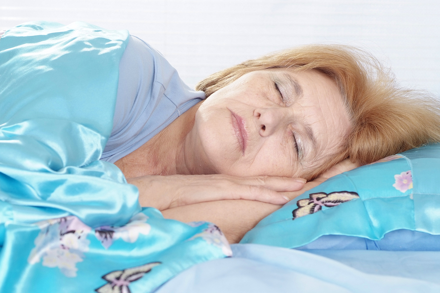 Can Your Senior Sleep Well Even if She Has COPD?